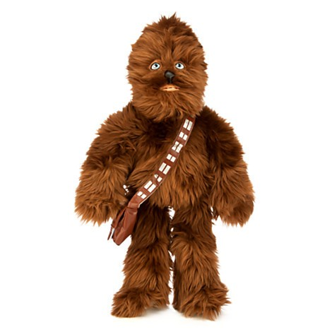 Disney Store Chewbacca de Pelúcia  - 47,5cm - Produto oficial e licenciado Disney/Star Wars  - Movie Freaks Collectibles