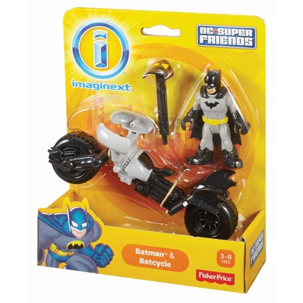 Imaginext® Justice League Dc Comics Batman & Batcycle  - Movie Freaks Collectibles