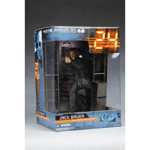 Mcfarlane Jack Bauer Deluxe Boxed Set Action Figure  - Movie Freaks Collectibles