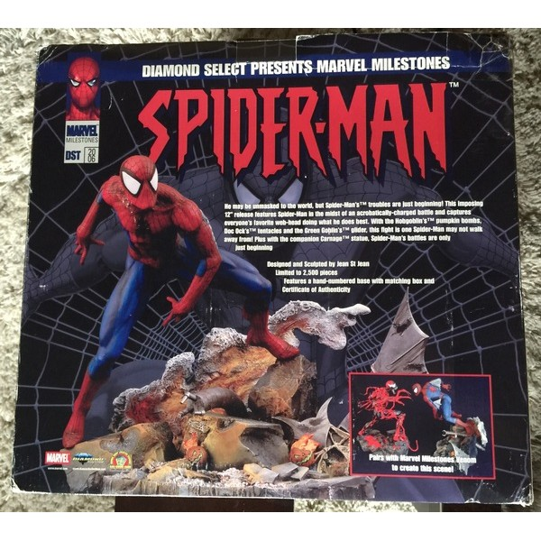 Diamond Select Toys Marvel Milestones Showdown Spider-Man Statue  - Movie Freaks Collectibles