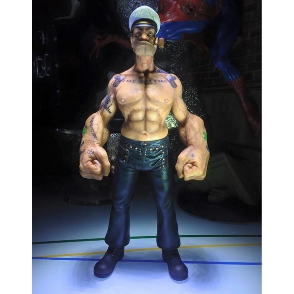 Head Play Toys Popeye the Sailor 1/6 statue  - Movie Freaks Collectibles