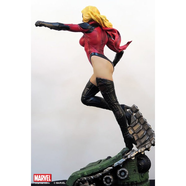XM Studios Ms Marvel Statue  - Movie Freaks Collectibles