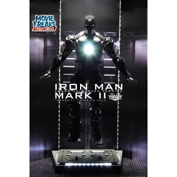 Hot Toys Iron Man Mark II Unleashed Homem De Ferro Mark 2  - Movie Freaks Collectibles