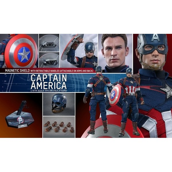Hot Toys Capitão América Age of Ultron  - Movie Freaks Collectibles