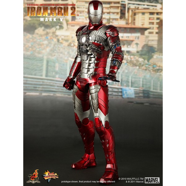 Hot Toys Iron Man Mark V Homem De Ferro Mark 5  - Movie Freaks Collectibles