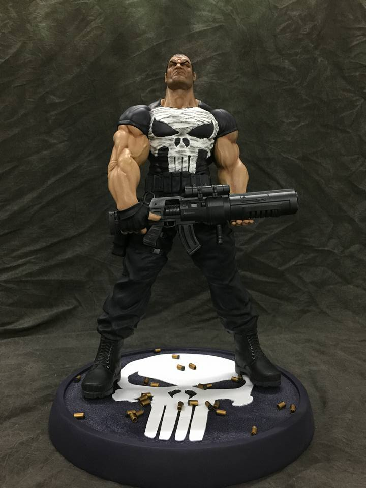 Ariel Olivetti Punisher / Justiceiro 1/4  - Movie Freaks Collectibles