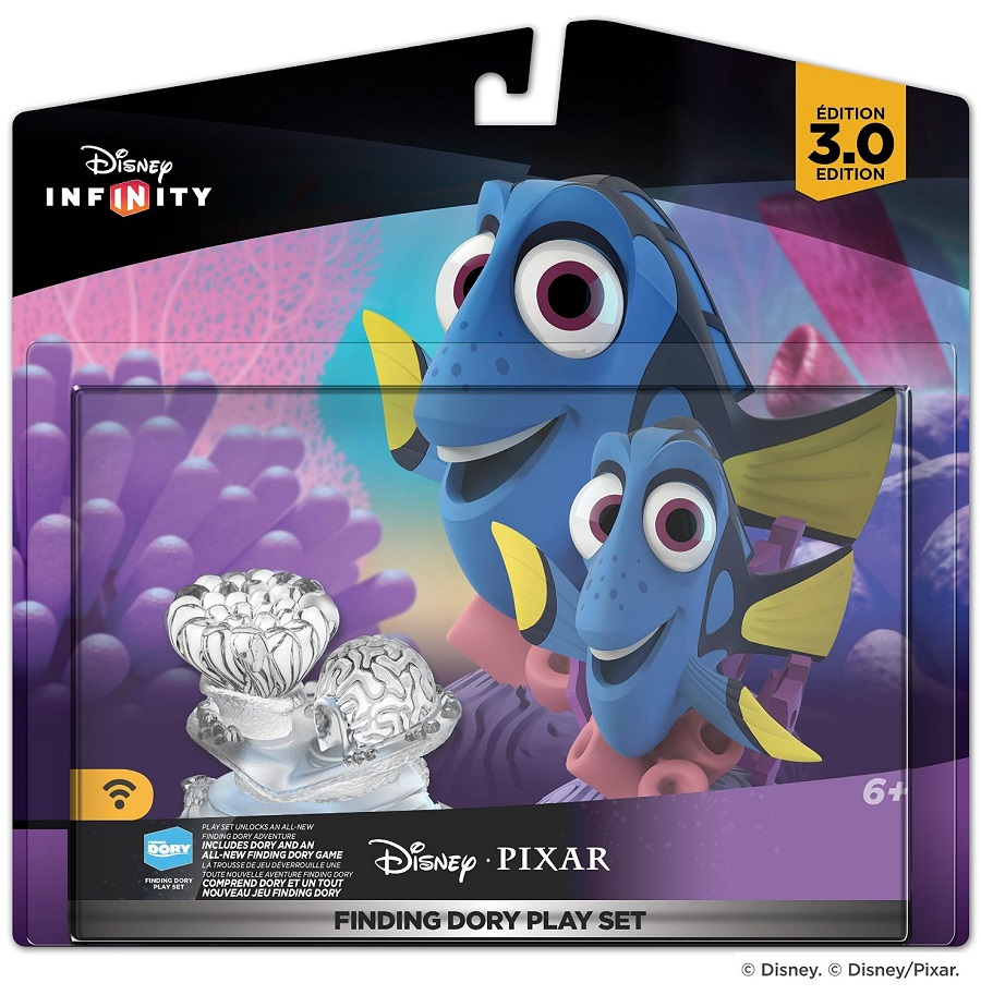 Disney Infinity 3.0 Edition: Finding Dory Play Set  - Movie Freaks Collectibles
