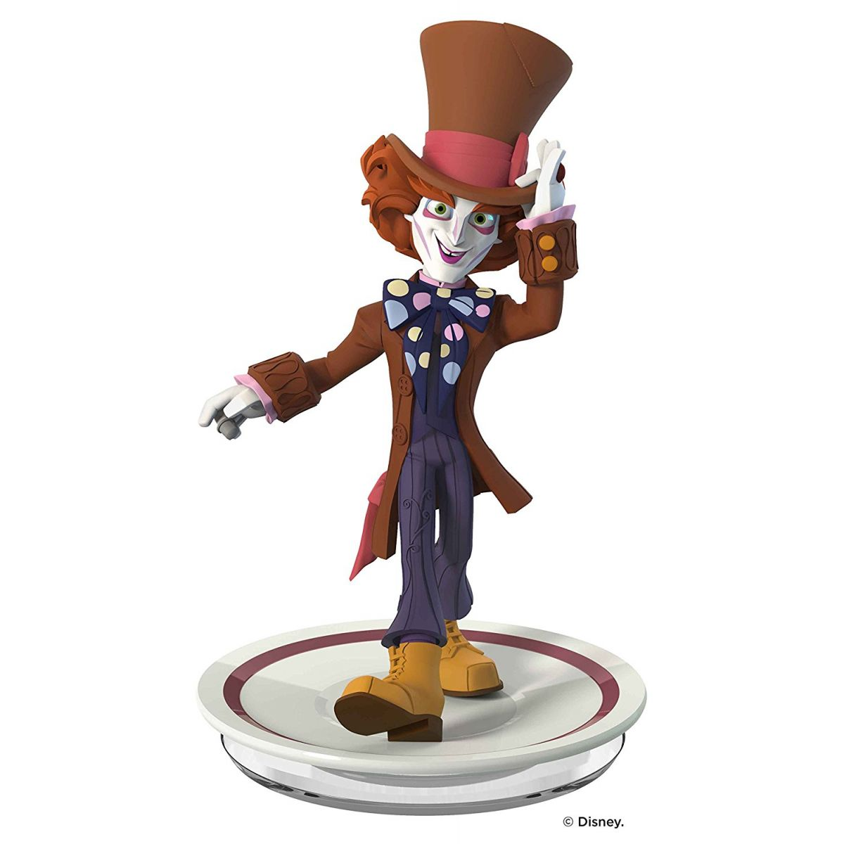 Disney INFINITY: Disney Originals (3.0 Edition) - Chapeleiro Maluco Mad Hatter Figure - Movie Freaks Collectibles