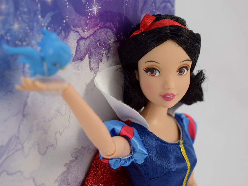 Disney Store Boneca Branca De Neve Com Pássaro Azul 2016/17 - Movie Freaks Collectibles