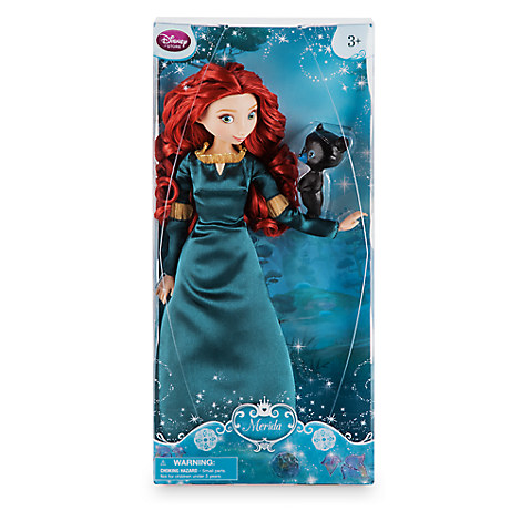 Disney Store Boneca Merida com Ursinho 2016/17  - Movie Freaks Collectibles