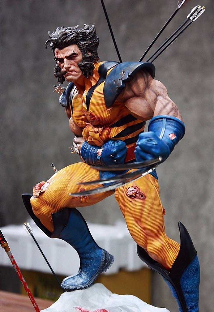 Erick Sosa Battle Wolverine 1/4 Regular Statue  - Movie Freaks Collectibles