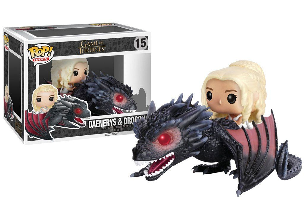 Funko Pop! Daenerys & Drogon Ccxp17  - Movie Freaks Collectibles