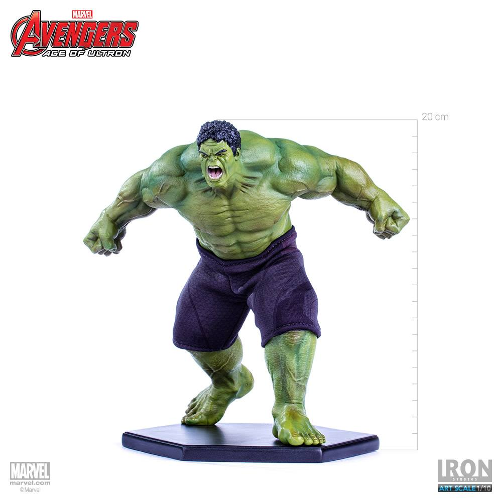 Iron Studios Age of Ultron Hulk 1/10 Statue  - Movie Freaks Collectibles