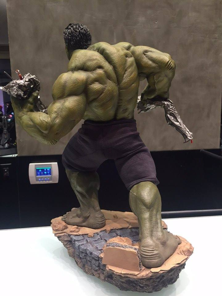 Iron Studios Age Of Ultron Hulk 1/6 Diorama  - Movie Freaks Collectibles
