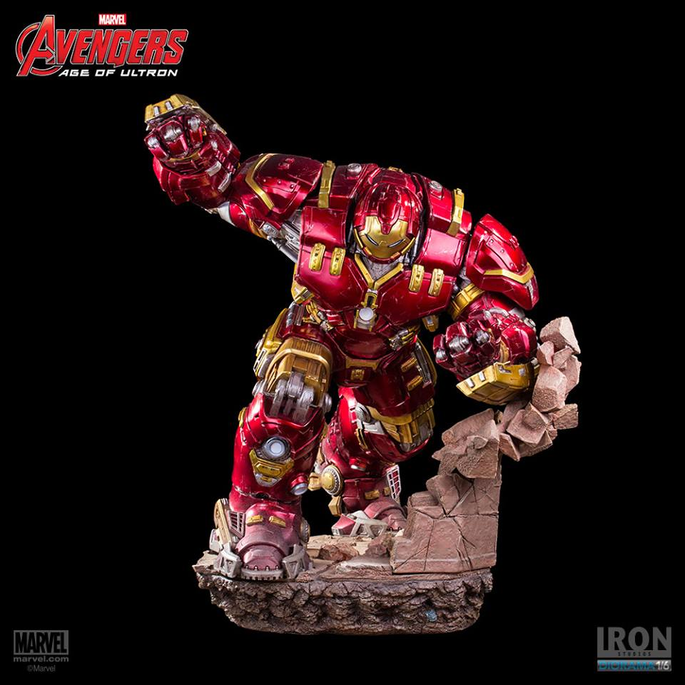 Iron Studios Age of Ultron Hulkbuster 1/6 Diorama  - Movie Freaks Collectibles
