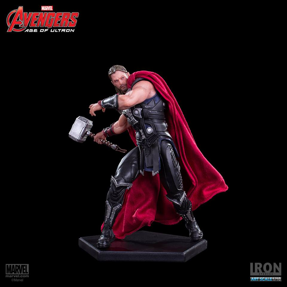 Iron Studios AOU Thor 1/10 Art Scale  - Movie Freaks Collectibles