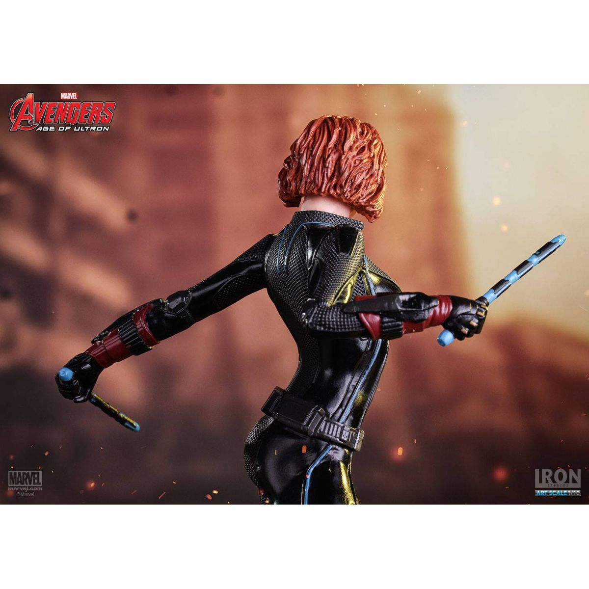 Iron Studios AOU Viuva Negra 1/10 Art Scale  - Movie Freaks Collectibles