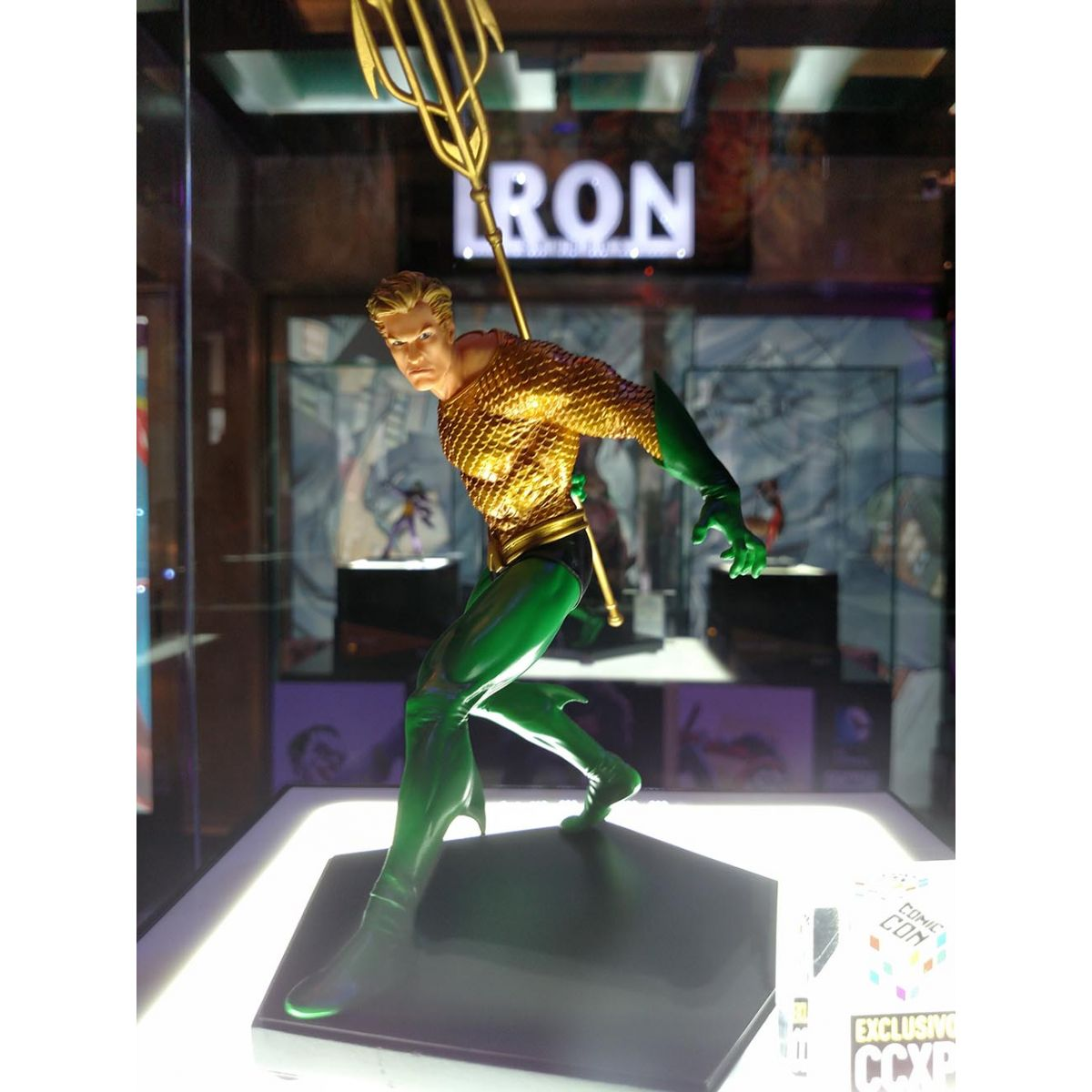 Iron Studios Aquaman 1/10 Art Scale - Comic Con Brazil Ex - Movie Freaks Collectibles