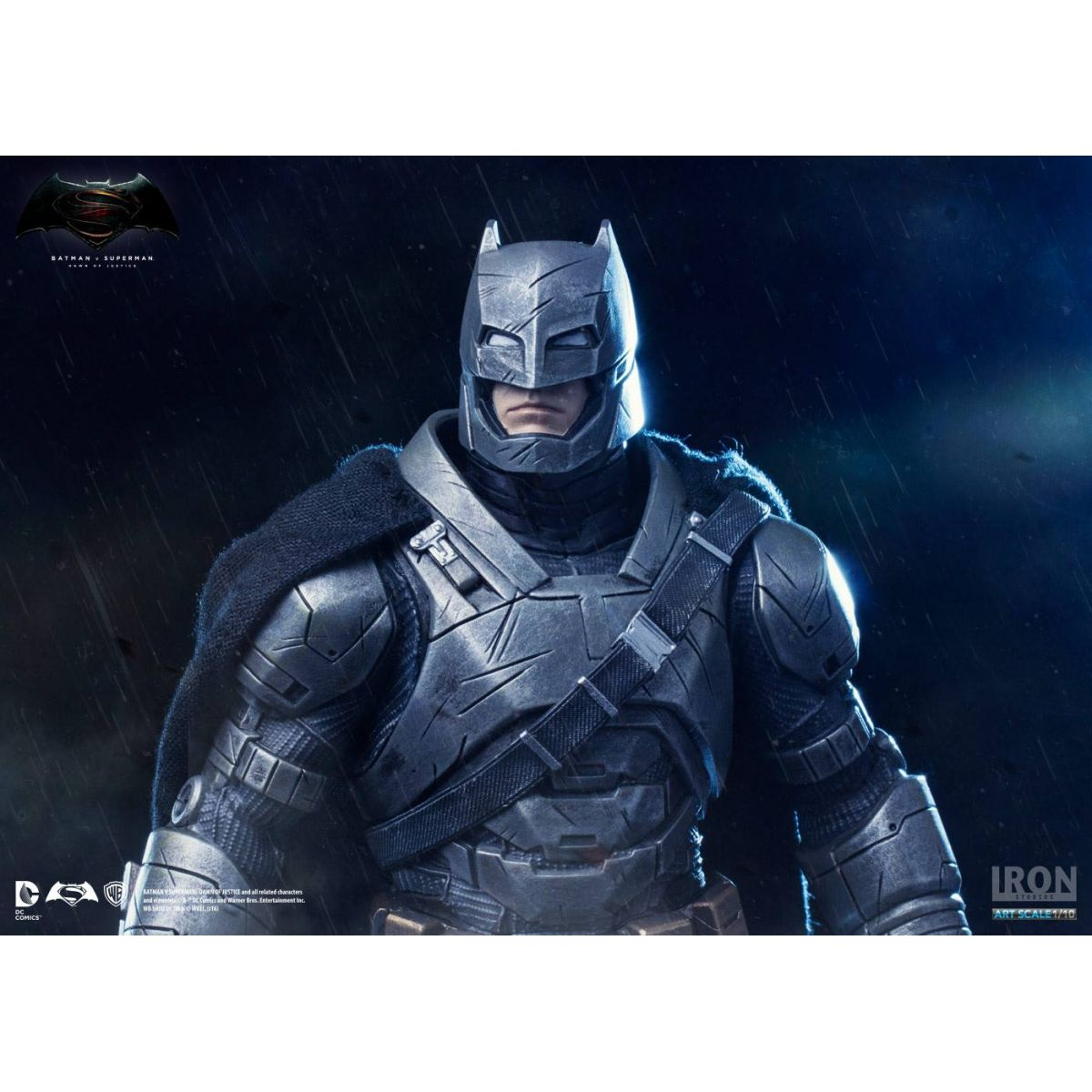 Iron Studios Armored Batman 1/10  - Movie Freaks Collectibles