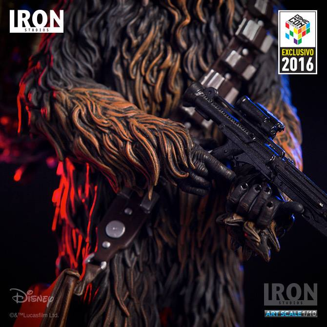 Iron Studios Chewbacca & C3PO Art Scale 1/10 Star Wars Serie 2 Exclusive CCXP 2016  - Movie Freaks Collectibles