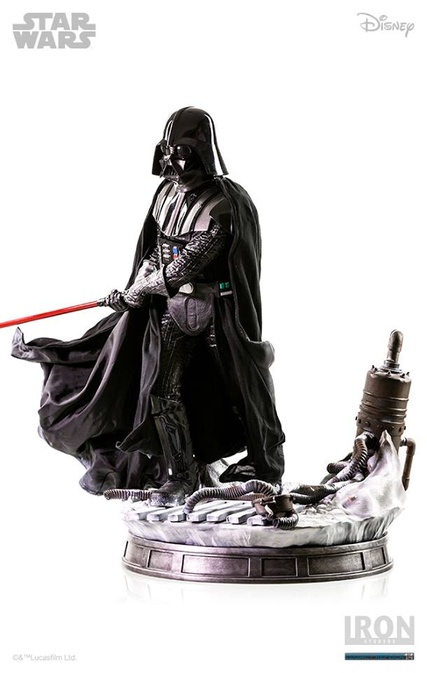 Iron Studios Darth Vader Ep V Legacy Replica 1/4 Star Wars  - Movie Freaks Collectibles