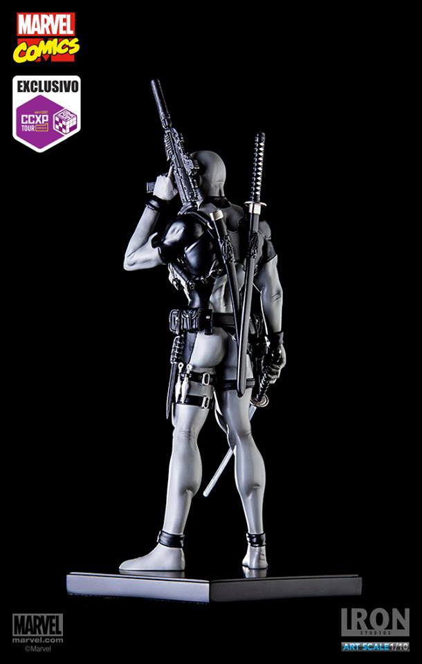 Iron Studios Deadpool X-force 1/10 Exclusive CCXP Tour 2017   - Movie Freaks Collectibles