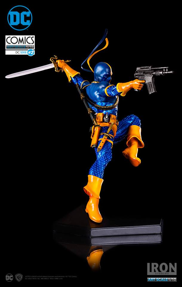 Iron Studios Deathstroke 1/10 Art Scale EXclusive with Extra head  - Movie Freaks Collectibles