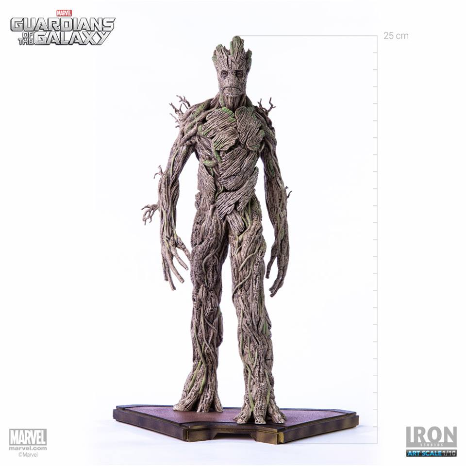 Iron Studios Guardiões Da Galáxia Set completo 1/10   - Movie Freaks Collectibles