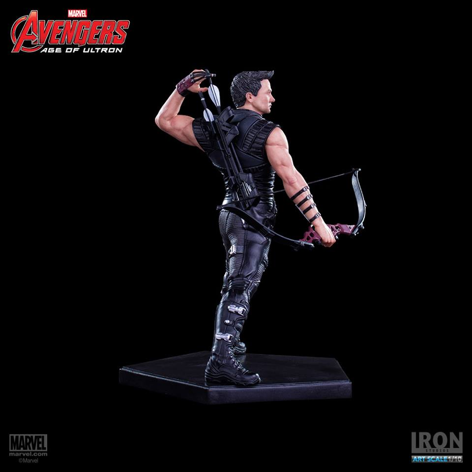 Iron Studios Hawkeye Art Scale 1/10 Age of Ultron  - Movie Freaks Collectibles