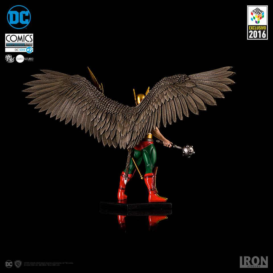 Iron Studios Hawkman Art Scale 1/10 DC Comics Serie 2 Exclusive CCXP 2016  - Movie Freaks Collectibles
