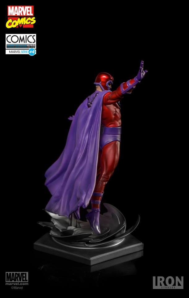 Iron Studios Magneto 1/10 Art Scale Statue  - Movie Freaks Collectibles