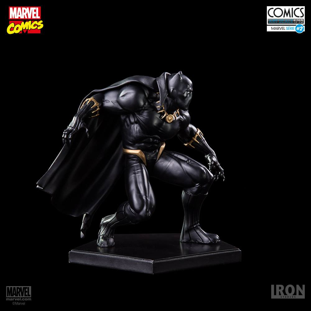 Iron Studios Pantera Negra 1/10 Art Scale Statue  - Movie Freaks Collectibles