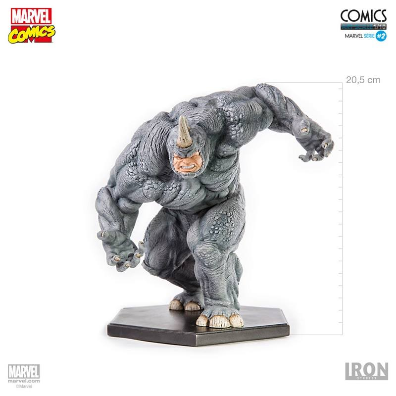 Iron Studios Rhino 1/10 Art Scale - Movie Freaks Collectibles