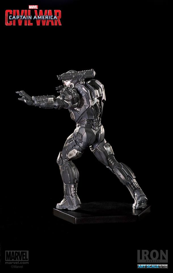 Iron Studios War Machine Art Scale 1/10 Exclusive with an extra pair of hands - Movie Freaks Collectibles
