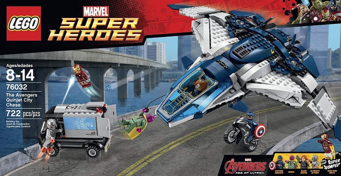 LEGO Superheroes The Quinjet City Chase 76032  - Movie Freaks Collectibles
