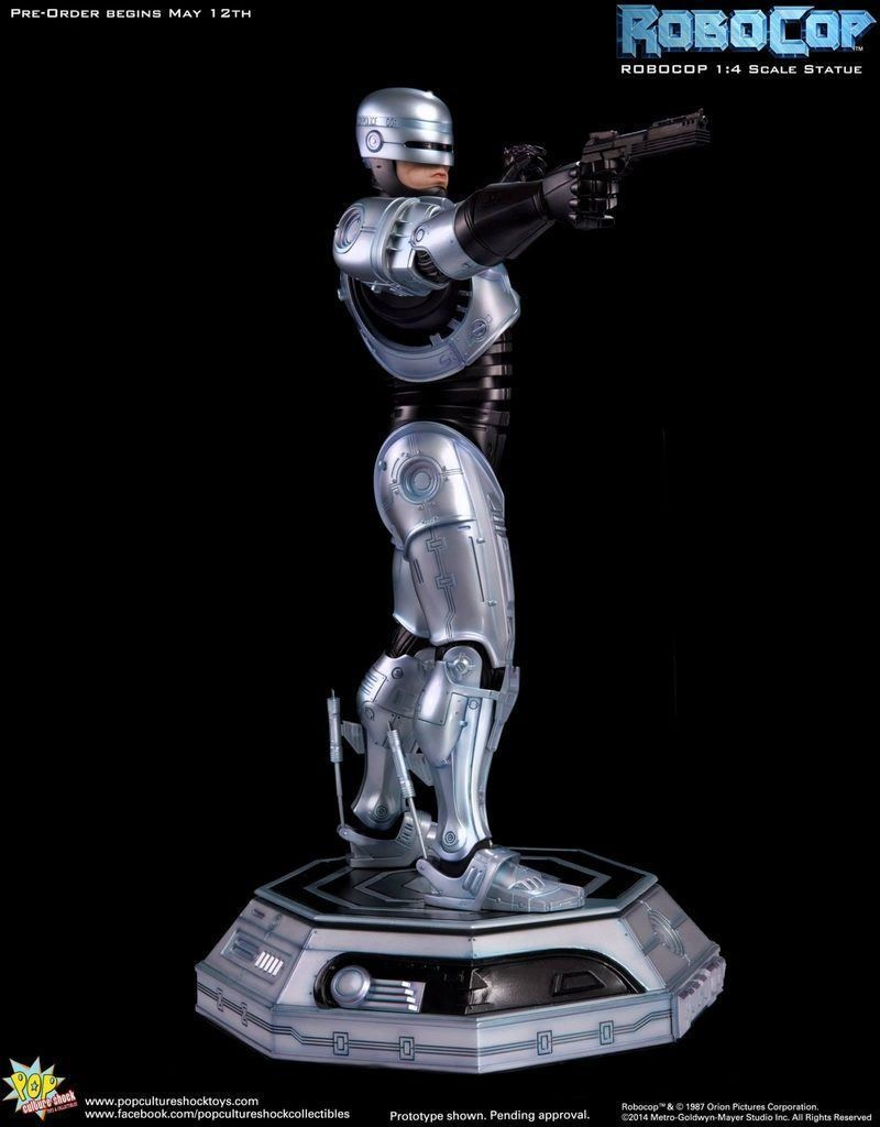 Pop Culture Shock Robocop 1/4 Statue - Movie Freaks Collectibles