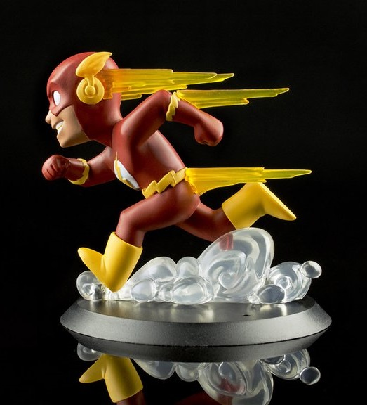 Quantum Mechanix QFig The Flash Q-Pop Toy Figure  - Movie Freaks Collectibles