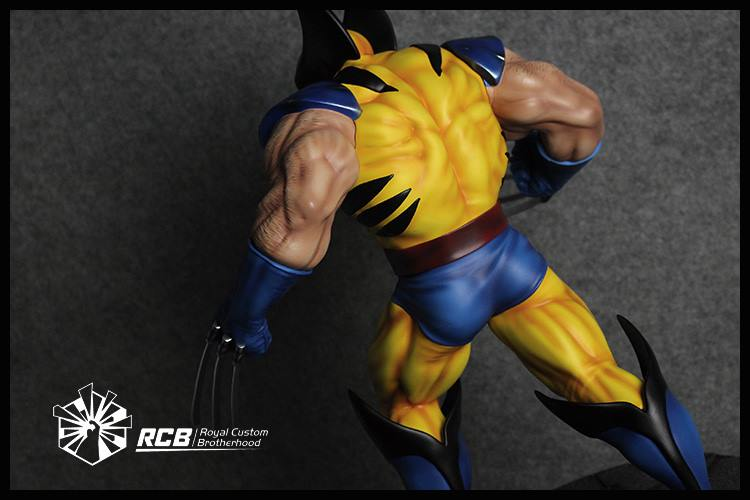 RCB Erick Sosa Marvel Vs Capcom Wolverine Yellow Variant  - Movie Freaks Collectibles