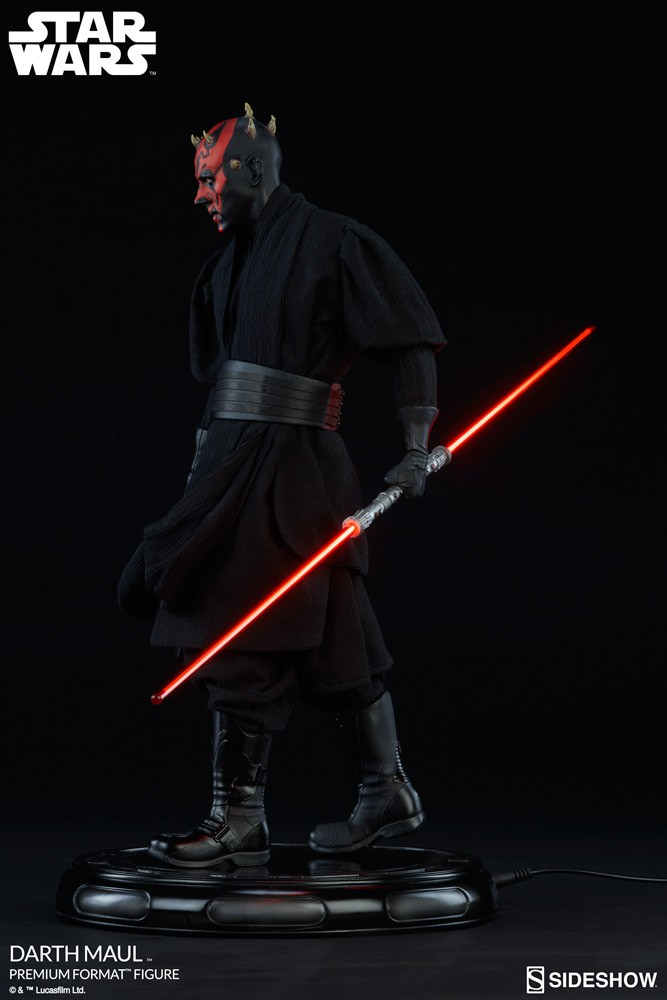 Sideshow Darth Maul Premium Format Exclusive statue - Star Wars  - Movie Freaks Collectibles