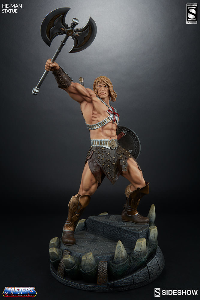 Sideshow He-Man EXclusive statue  - Movie Freaks Collectibles