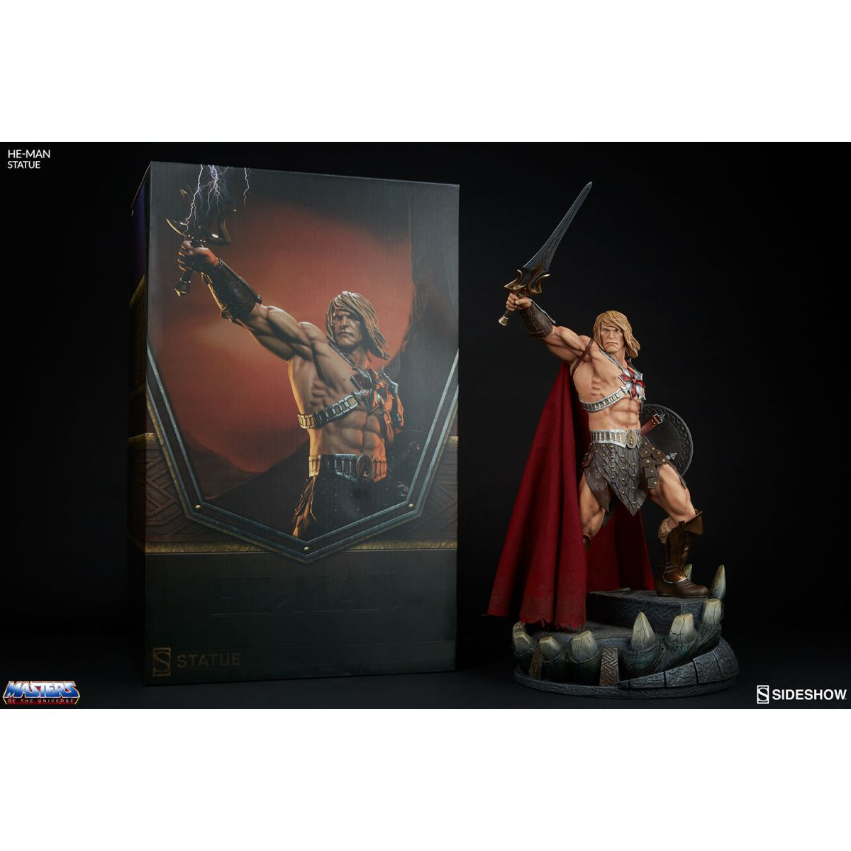 Sideshow He-Man statue  - Movie Freaks Collectibles