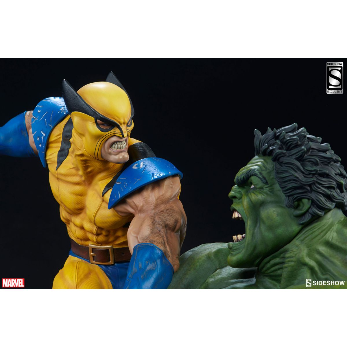 Sideshow Hulk and Wolverine Maquette Exclusive  - Movie Freaks Collectibles