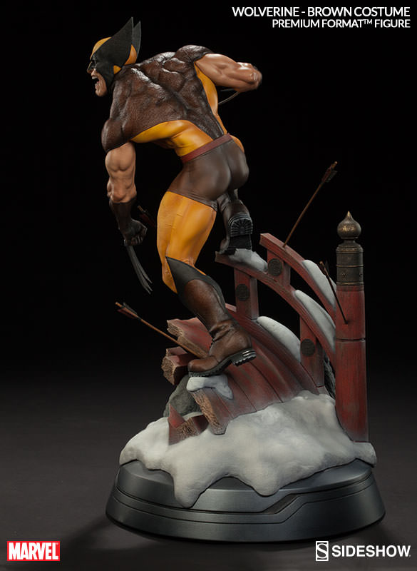 Sideshow Brown Wolverine Premium Format  - Movie Freaks Collectibles