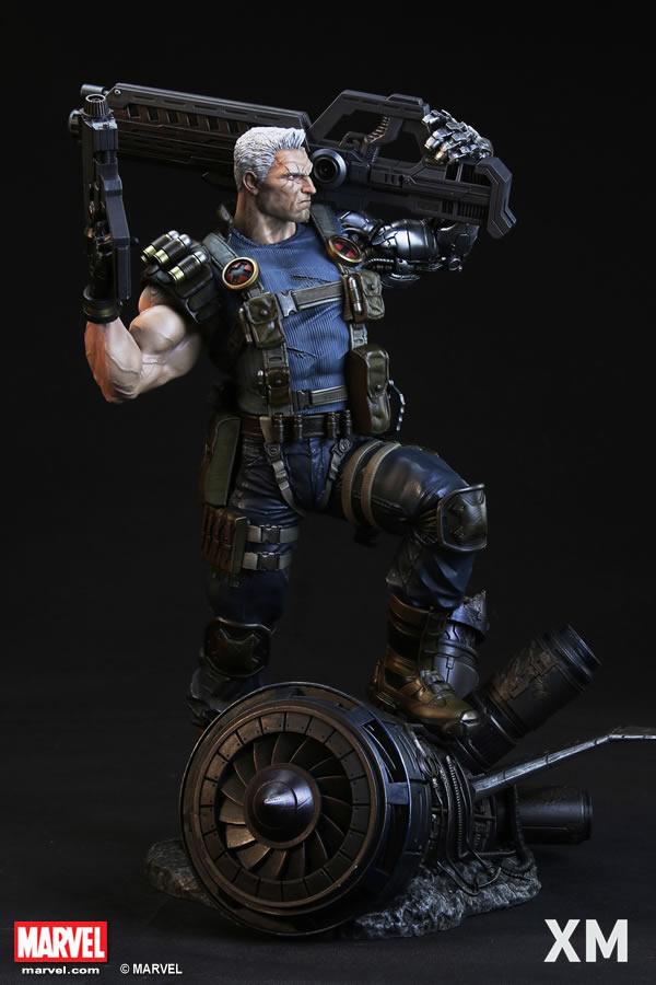 XM Studios Cable Statue EXclusive  - Movie Freaks Collectibles
