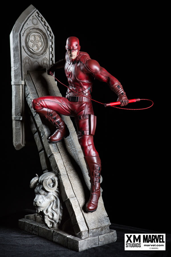XM Studios Demolidor - Daredevil Statue  - Movie Freaks Collectibles