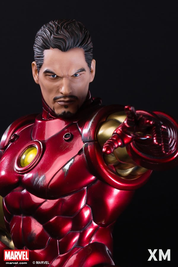 XM Studios Iron Man Classic Statue - Homem de Ferro Classico  - Movie Freaks Collectibles