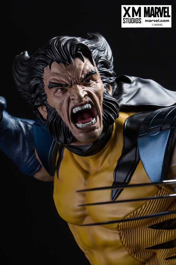 XM Studios Wolverine on Sentinel Head Statue  - Movie Freaks Collectibles