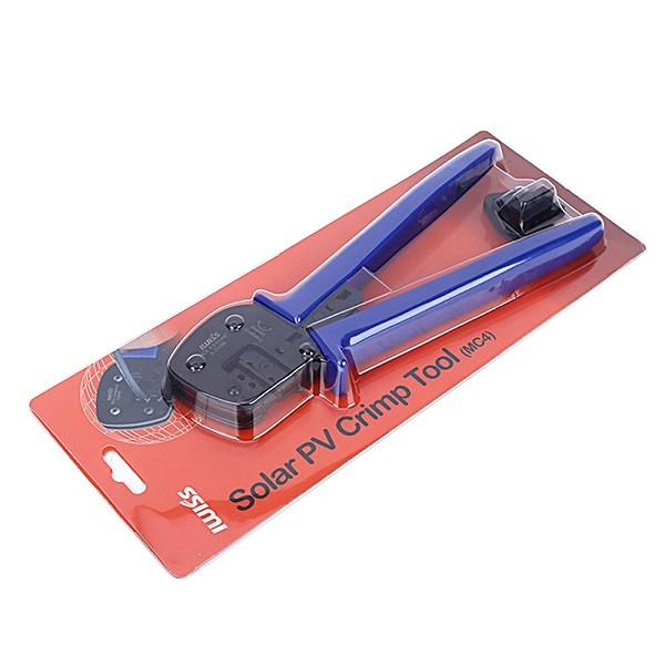 Alicate para Crimpar MC4 Solar - IWISS A-2546B