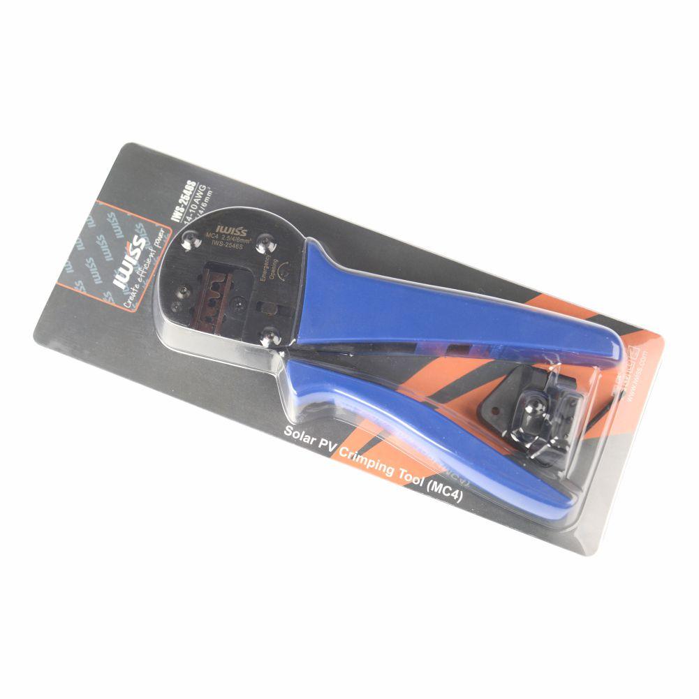 IWISS ÌWS-2546S - Alicate para Crimpar MC4 Solar