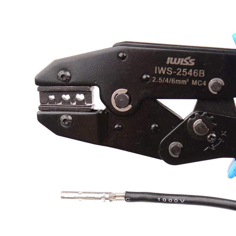 Kit Ferramentas para Crimpar Conector Solar MC4 - IWISS FSPV-4